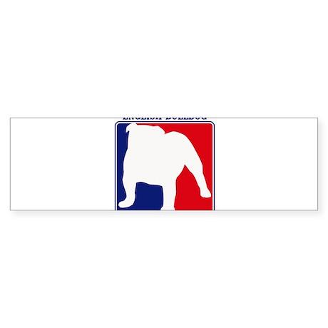 Pro English Bulldog Bumper Sticker
