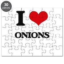 I Love Onions Puzzle