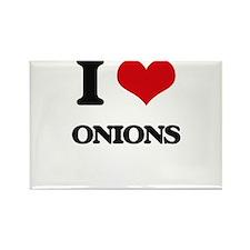 I Love Onions Magnets