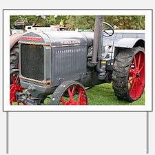 McCormick-Deering Tractor Yard Sign