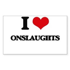 I Love Onslaughts Decal