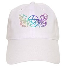 Colorful Pentacle Baseball Cap
