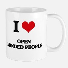 I Love Open Minded People Mugs