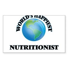 World's Happiest Nutritionist Decal