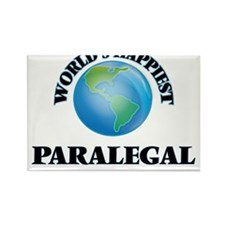 World's Happiest Paralegal Magnets