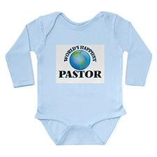 World's Happiest Pastor Body Suit