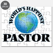 World's Happiest Pastor Puzzle