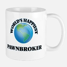 World's Happiest Pawnbroker Mugs