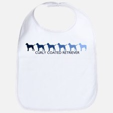 Curly Coated Retriever (blue  Bib