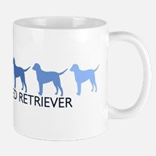 Curly Coated Retriever (blue  Mug