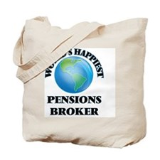 World's Happiest Pensions Broker Tote Bag