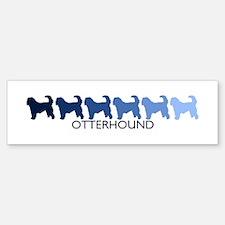 Otterhound (blue color spectr Bumper Bumper Bumper Sticker