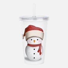 Snowman Baby Acrylic Double-wall Tumbler