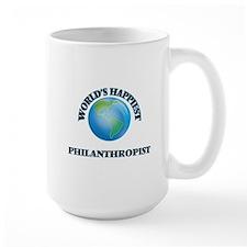 World's Happiest Philanthropist Mugs