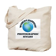 World's Happiest Photographic Stylist Tote Bag