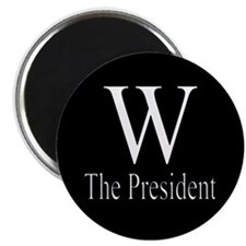 W The President Magnet