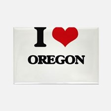 I Love Oregon Magnets