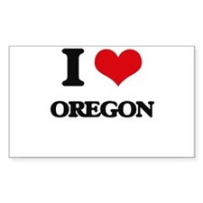 I Love Oregon Decal