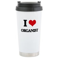 I Love Organist Travel Mug