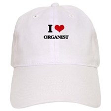 I Love Organist Baseball Cap