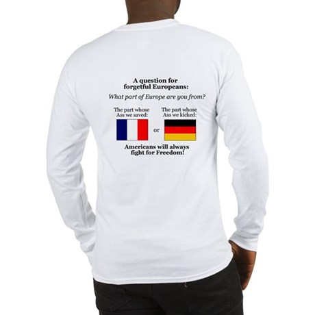 What part of Europe? Long Sleeve T-Shirt