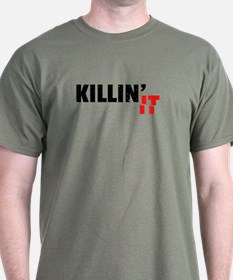 Slang Killin It Since Black Cool Grunge T-Shirt