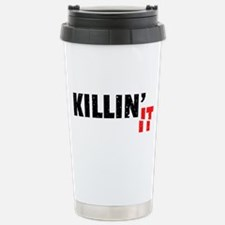 Slang Killin It Since Black Cool Grunge Travel Mug