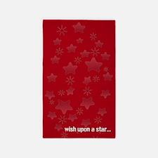 Glossy Stars Area Rug