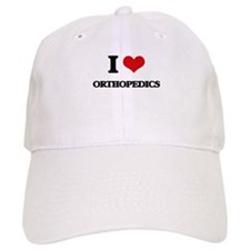 I Love Orthopedics Baseball Cap