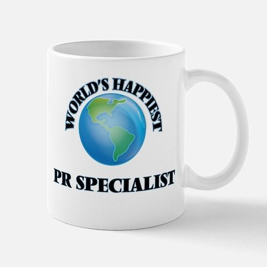 World's Happiest Pr Specialist Mugs