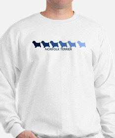 Norfolk Terrier (blue color s Sweatshirt