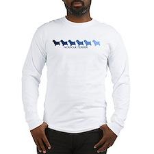 Norfolk Terrier (blue color s Long Sleeve T-Shirt