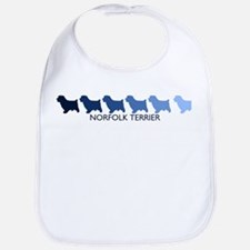 Norfolk Terrier (blue color s Bib