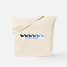 Norfolk Terrier (blue color s Tote Bag