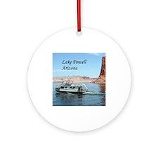 Lake Powell, Arizona, USA (captio Ornament (Round)