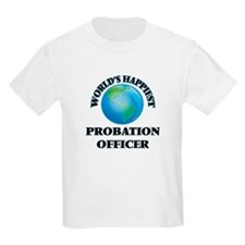 World's Happiest Probation Officer T-Shirt