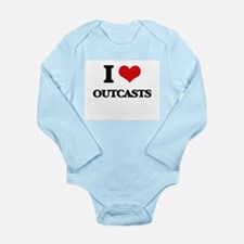 I Love Outcasts Body Suit