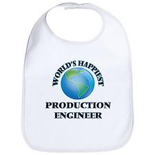 World's Happiest Production Engineer Bib