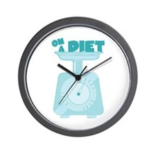 On a Diet Wall Clock