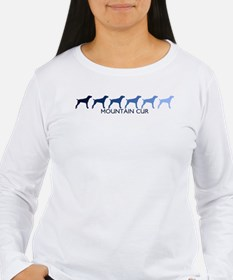 Mountain Cur (blue color spec T-Shirt
