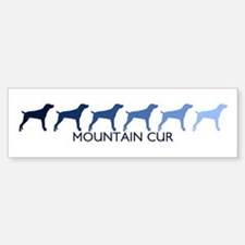 Mountain Cur (blue color spec Bumper Bumper Bumper Sticker