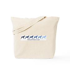 Mountain Cur (blue color spec Tote Bag