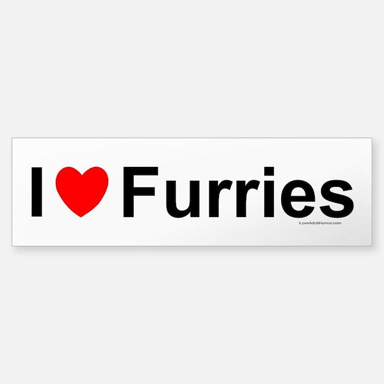 Furries Bumper Bumper Sticker