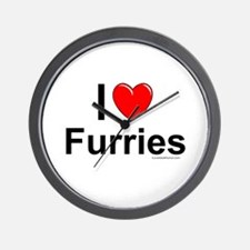 Furries Wall Clock