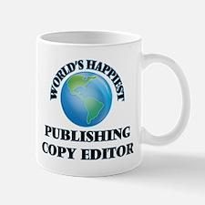 World's Happiest Publishing Copy Editor Mugs
