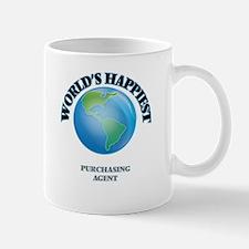 World's Happiest Purchasing Agent Mugs