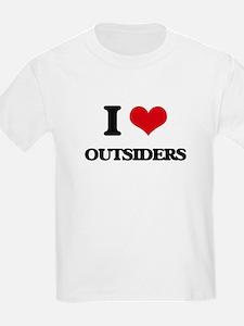 I Love Outsiders T-Shirt