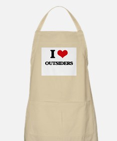 I Love Outsiders Apron