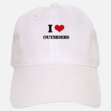 I Love Outsiders Baseball Baseball Cap