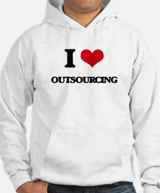 I Love Outsourcing Hoodie